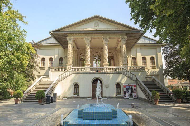 معماری باغ فردوس تهران