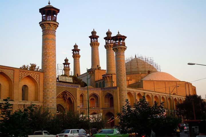 مجموعه سپهسالار   معرفی کامل مسجد و مدرسه سپهسالار