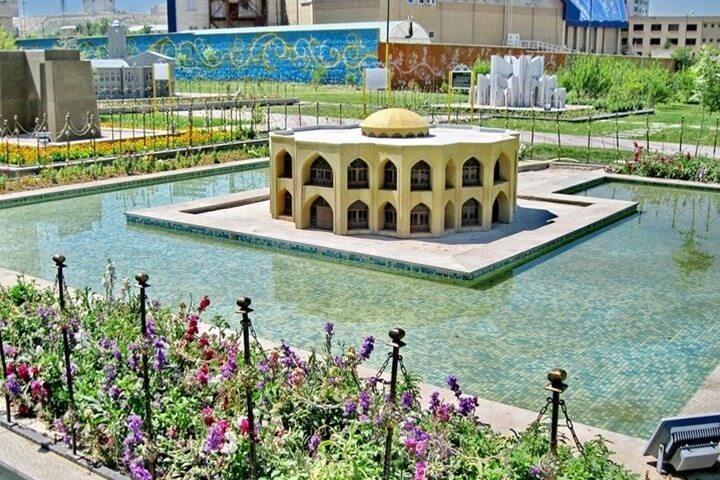 جاهای دیدنی مشهد - پارک مینیاتوری