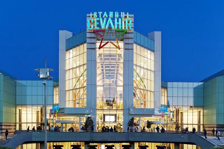 مرکز خرید جواهر | مراکز خرید نزدیک میدان تقسیم استانبول