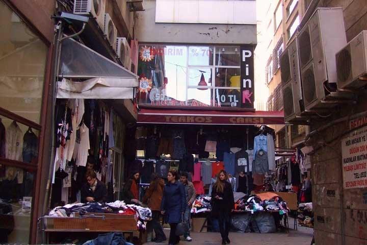 مرکز خرید ترکوز پاساژ | مراکز خرید نزدیک میدان تقسیم استانبول