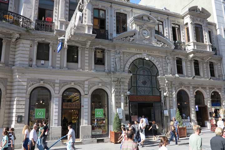 پاساژ چیچک استقلال | مراکز خرید نزدیک میدان تقسیم استانبول