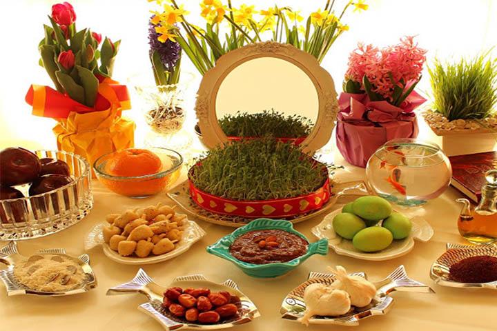 سفره هفت سین | عید نوروز