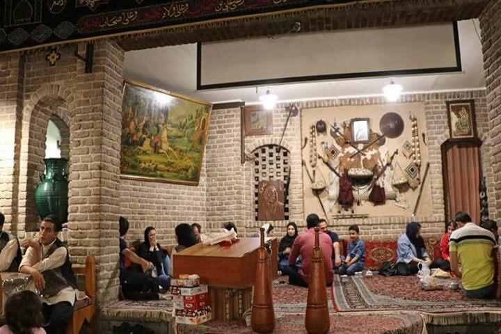 قهوه خانه آذری تهران