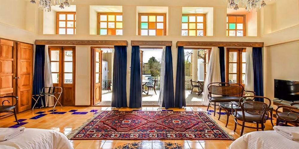 اقامتگاه سنتی کریاس اصفهان ، اقامتی لوکس در نصف جهان