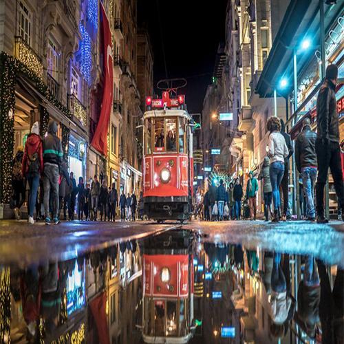 خیابان گردی در استانبول